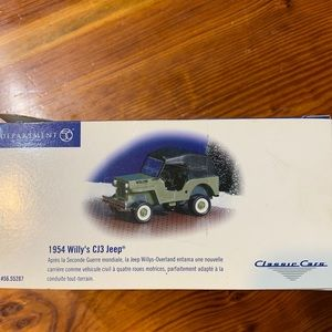 Department 56 Classic Cars 1954 Willy's CJ3 Jeep